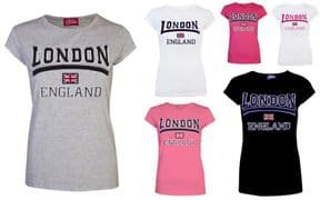 Womens London Logo T-shirt