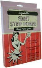 Inflatable Giant Strip Poker Game