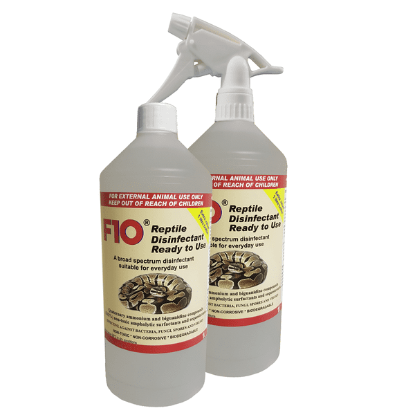 F10 Reptile Disinfectant, Ready to Use