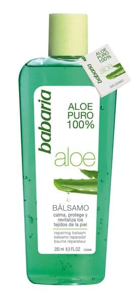 Babaria 100% Aloe Vera Repairing Balsam / After Sun Gel 250ml