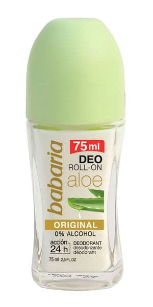 Babaria Aloe Vera 24hr Roll-on Deodorant 75ml