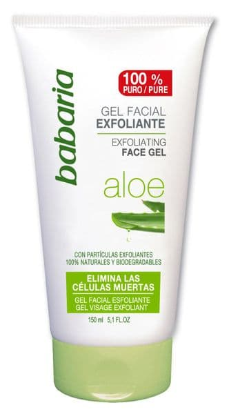 Babaria Aloe Vera Exfoliating Face Scrub Gel 150ml