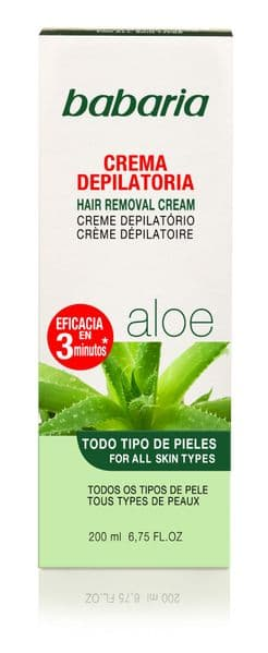 Babaria Aloe Vera Hair Removal Cream 200ml