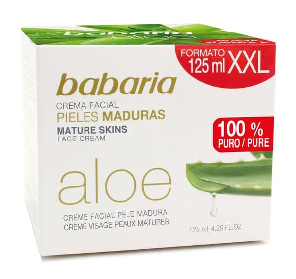 Babaria Aloe Vera Mature Skin Face Cream 125ml