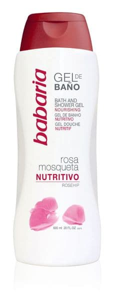 Babaria Rosehip Oil Moisturising Shower Cream 600ml