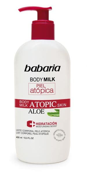 Babaria Very Sensitive Skin Body Milk 400ml