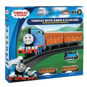 Bachmann 00642BE: Thomas with Annie & Clarabel OO Gauge Electric Train Set