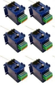 CP6 DCC Concepts Cobalt Slow Action Point Motors (DCP151) - pack of 6 REDUCED