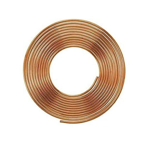 15 Meter Refrigeration / Air Conditioning 21G Copper Coil 1/2""