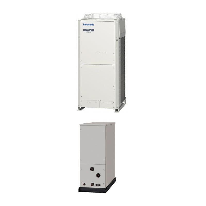 Panasonic Air Conditioning ECOi Water Chiller Heat Exchanger Heatpump 25Kw/85000Btu 415V~50Hz
