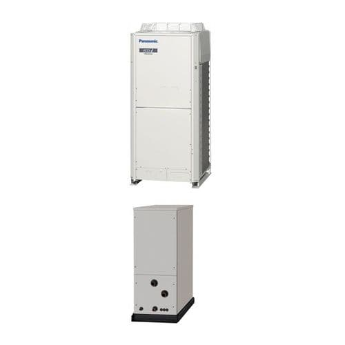 Panasonic Air Conditioning ECOi Water Chiller Heat Exchanger Heatpump 25Kw/85000Btu 415V~50Hz