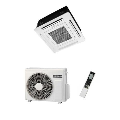 Hitachi Air Conditioning Mini Cassette RAI-35RPA Inverter Heat Pump 3.5Kw/12000Btu A+ 240V~50Hz