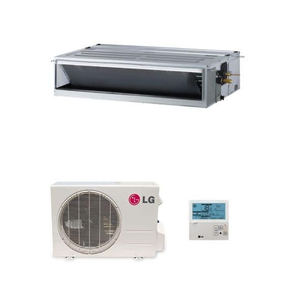 LG Air Conditioning CM24RN10 Concealed Ducted Heat Pump Inverter 7Kw/24000Btu A++ R32 240V~50Hz