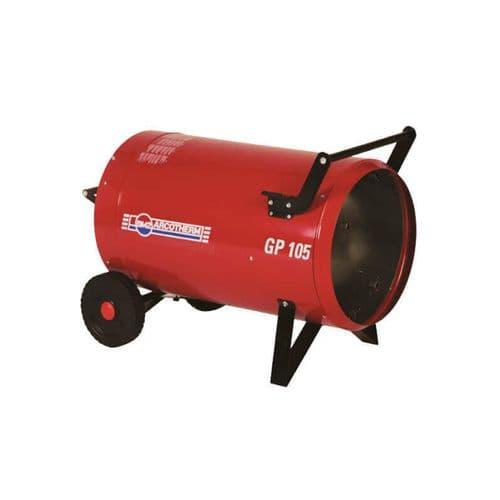 Arcotherm GP105M 108kW / 369000Btu Direct Fired LPG Heater Dual Voltage 110v / 240V~50Hz