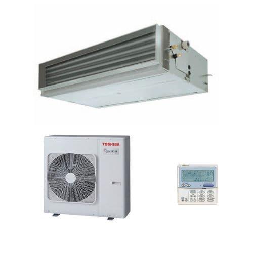 Toshiba Air Conditioning Ducted RAV-SM566BTP-E 10Kw/34000Btu Heat Pump Inverter A+ 240V/415V~50Hz