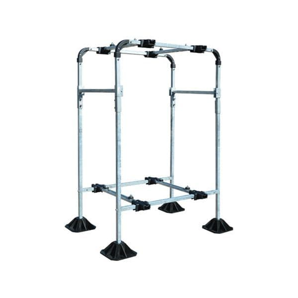 BBJ Big Foot Unit Roof Condensing Unit Floor Bracket Tower Frame Single For HVAC,Solar And Access