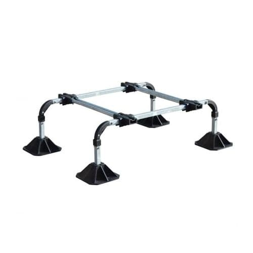 BBJ Big Foot Unit Roof System Lock 'n' Condensing Unit Bracket Single For HVAC,Solar And Access