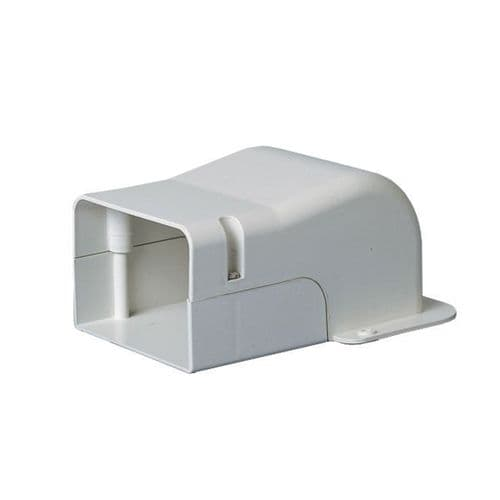 """BBJ WC70 Professional Speedi-Duct 70mm 3"""" Duct Trunking End Wall Cover"""