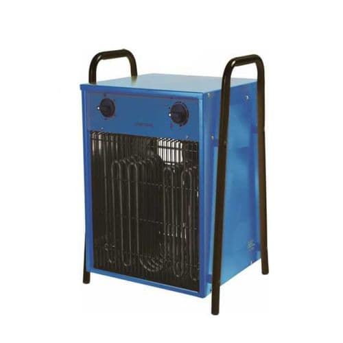 Broughton IFH15 IFH03-150 Industrial Fan Heater 15Kw/51000Btu With Fitted Plug 32A 415V~50Hz