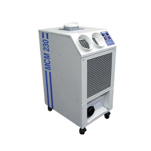 Broughton MCM230 7kw / 23000 btu Industrial High Output Portable Air Conditioning 110V/240V~50Hz