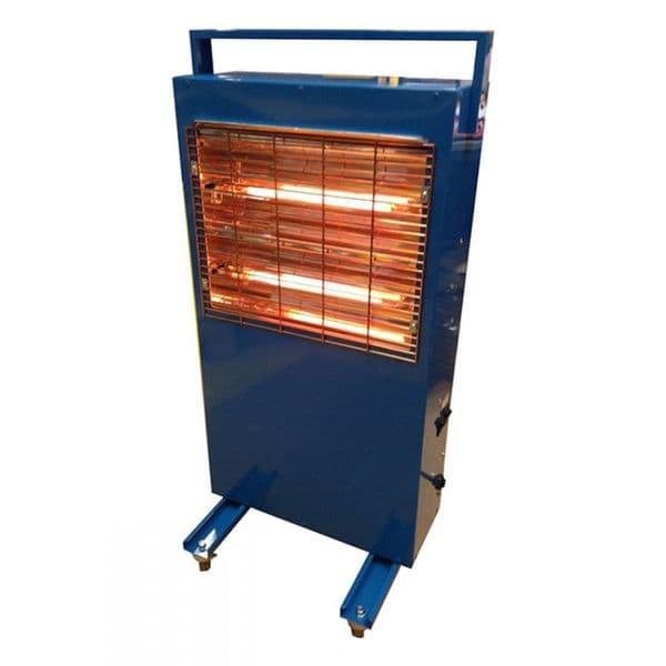 Broughton RG308 32A 3kW Carbon Fibre Quartz Electric Heater 110V~50Hz