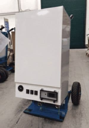 Broughton WB40 Mighty Heat Portable Electric Water Boiler 40Kw/135000Btu 415V~50Hz