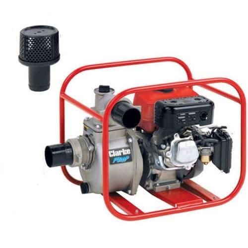 "Clarke 4 Stroke Petrol Engine Powered PW3 Petrol Water Pump 3"" 800 Litres/Min"