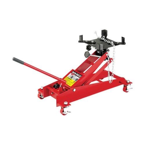 Clarke CFTJ500 0.5 Tonne Transmission Jack With Adjustable Lifting Bed Angle Brackets