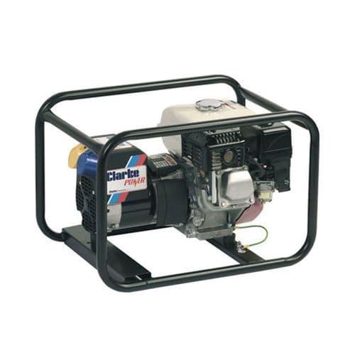 Clarke CP2850K Open Framed Petrol Generator 2.7kVa 110/230V~50Hz