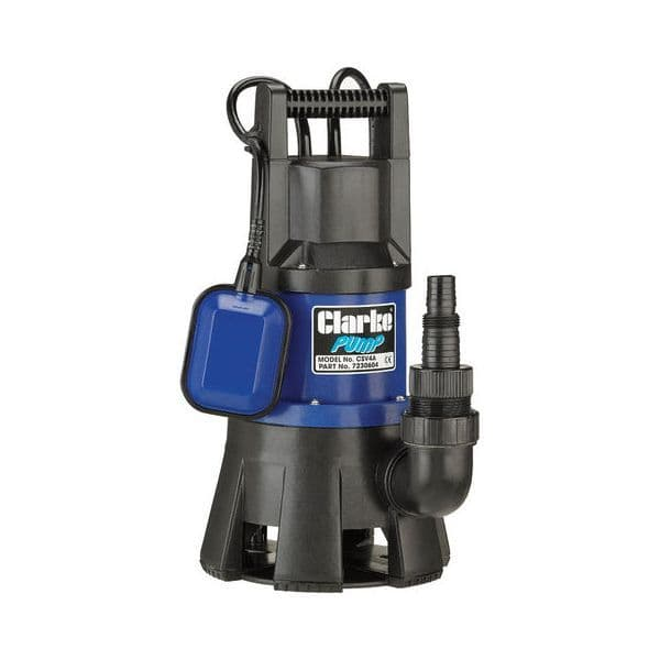 Clarke CSV4A Submersible Pump With Float Switch 417 Litres/Min 240V~50Hz