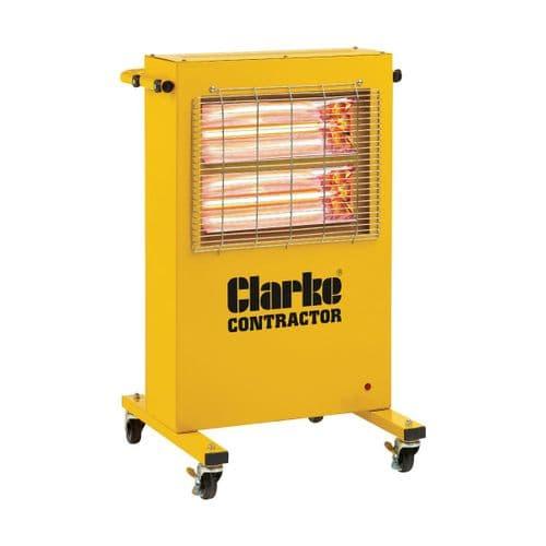 Clarke Devil 371PC Quartz Halogen Infra-red Heater 3Kw / 12000Btu 110V~50Hz