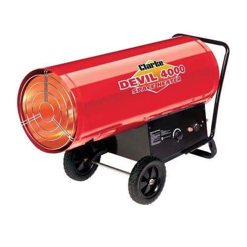 Clarke Devil 4000 Propane Fired Space Heater 131kW 400,000 BTU 240V~50Hz