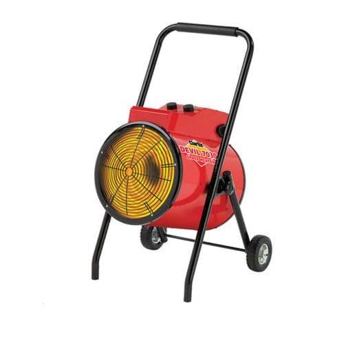 Clarke Devil 7030 Commercial  Industrial Electric Fan Heater 30kW /100000Btu 415V~50Hz