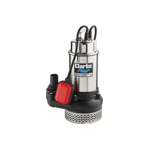 """Clarke DWP100A 1"""" Submersible Dirty Water Pump With Float Switch 200 Litres/Min 240V~50Hz"""
