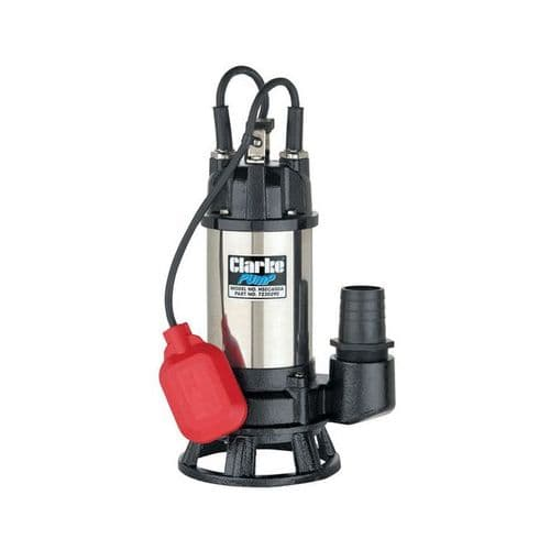 """Clarke HSEC650A 2"""" Industrial Submersible Dirty Water Cutter Pump 290 Litres/Min 240V~50Hz"""