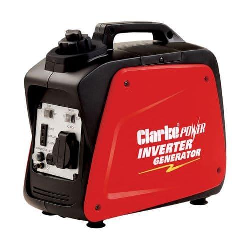 Clarke IG1000 Leisure Inverter Petrol Generator 1kVa 12VDC And 230V~50Hz