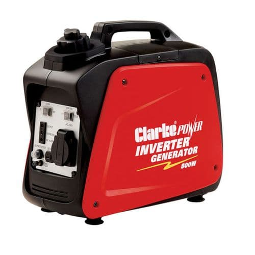 Clarke IG1200B Leisure Inverter Petrol Generator 1.2kVa 12VDC And 230V~50Hz