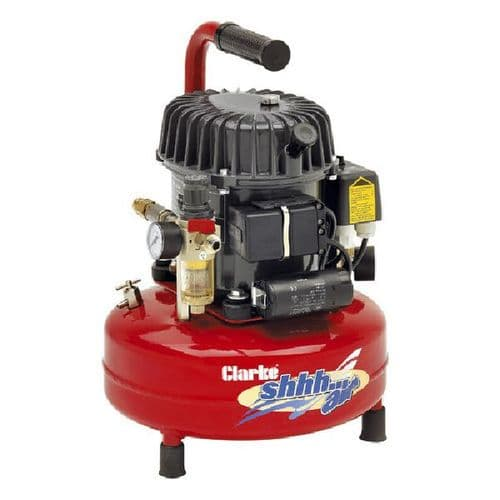 Clarke Portable Electric ShhhAir Quiet Run Air Compressors 0.9 To  5.3 CFM