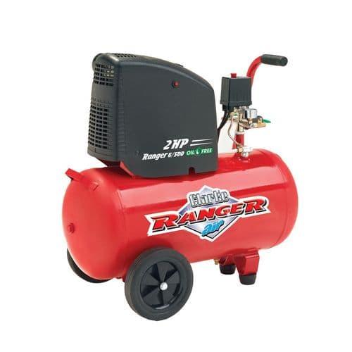 Clarke Ranger 6/500 Oil Free Air Compressor 50L Receiver 2hp 7cfm 240V~50Hz