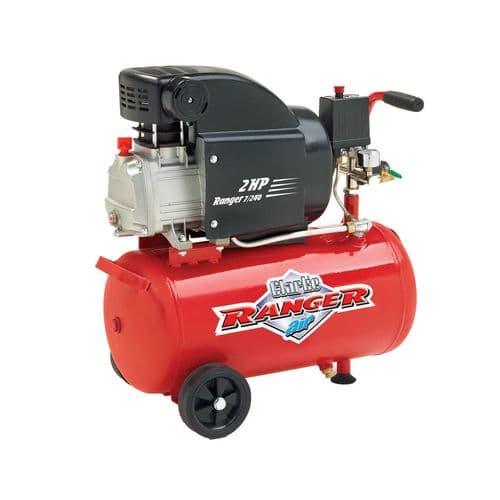Clarke Ranger 7/240 Electric Powered Industrial Air Compressor 24L Receiver 7.5cfm 2hp 240V~50Hz