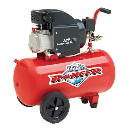 Clarke Ranger 7/500 Electric Powered Industrial Air Compressor 50L Receiver 7.5cfm 2hp 240V~50Hz
