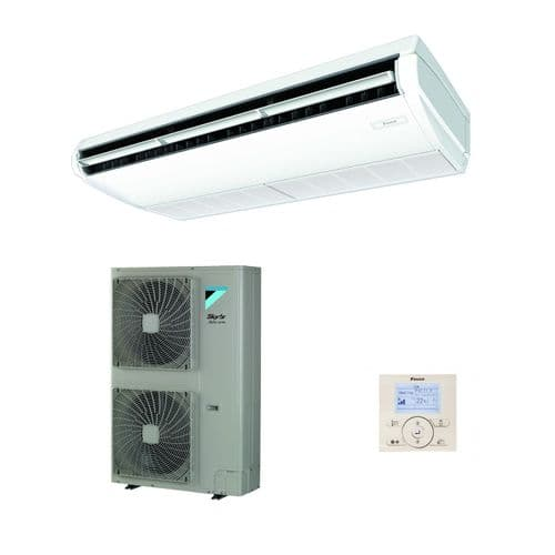 Daikin Air Conditioning Ceiling Suspended Advance Inverter Heat Pump FHA140A+RZASG140MV1 14Kw/48000Btu R32 240V/415V~50Hz