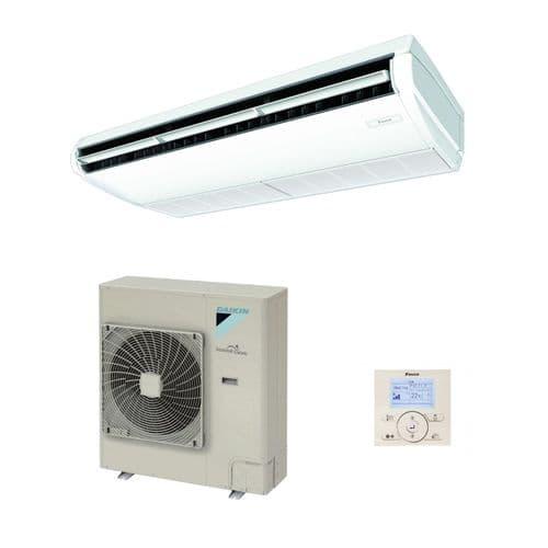 Daikin Air Conditioning Ceiling Suspended Alpha Inverter Heat Pump FAA71A+RZAG71MV1 7Kw/24000Btu R32 A++ 240V/415V~50Hz