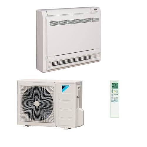 Daikin Air Conditioning Floor Console Inverter Heat Pump FVXM A++