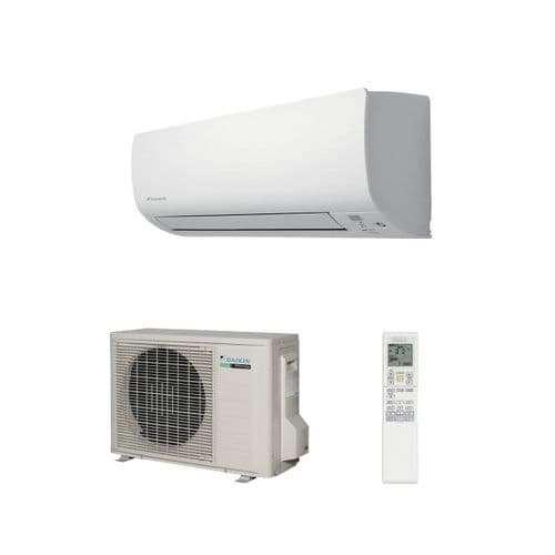 Daikin Air Conditioning FTXP25M Wall Mounted Low Inverter Heat Pump 2.5Kw/9000Btu Install Pack