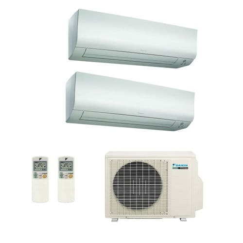 Daikin Air conditioning Multi 1 x 2MXM50M9 2 x FTXM25M 2.5Kw Wall Mounted Heat Pump R32 A+ 240V~50Hz