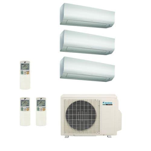 Daikin Air conditioning Multi 3MXS52E Heat Pump Inverter 3 x FTXS25K Wall Mounted A+++ 240V~50Hz