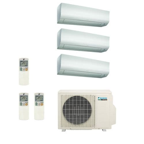 Daikin Air conditioning Multi 3MXS68G Heat Pump Inverter 3 x FTXS25K (2.5Kw/9000Btu) Wall Mounted A+++ 240V~50Hz