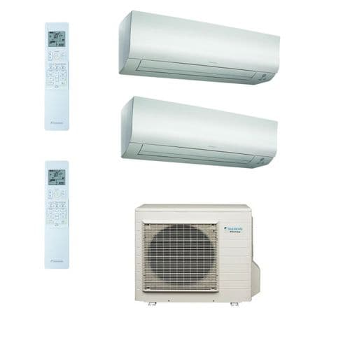 Daikin Air conditioning Multi 4MXS80E Heat Pump Inverter 2 x FTXS50K (5Kw/17000Btu) Wall Mounted A+ 240V~50Hz