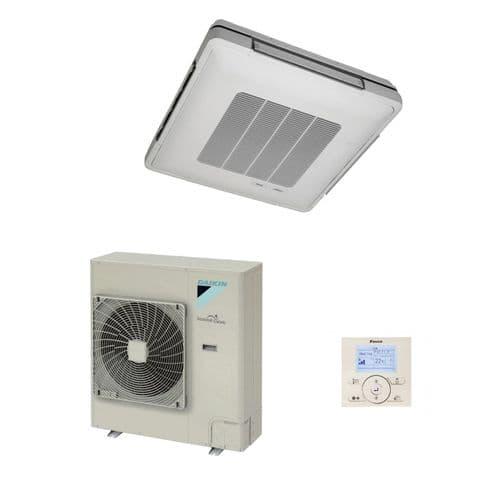 Daikin Air Conditioning Under Ceiling Cassette Inverter Heat Pump FUA A+